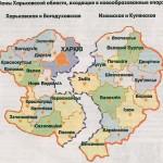 Карта епархии