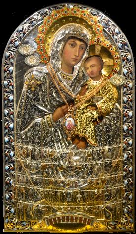 Песчанская чудотворная икона Божьей матери