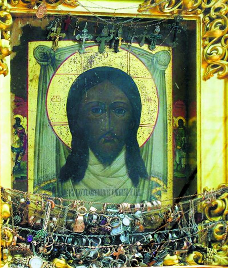 Обновление образа Спаса Нерукотворного в Свято-Борисо-Глебском монастыре, с. Водяное