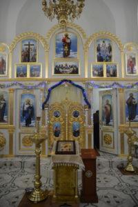 Храм Луки - внутри
