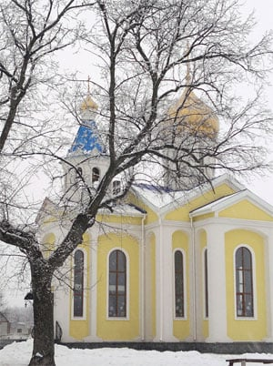 Свято-Успенский храм, с. Рубежное
