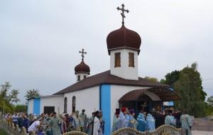 Храм Владимирской Иконы Божией Матери, с. Мануиловка