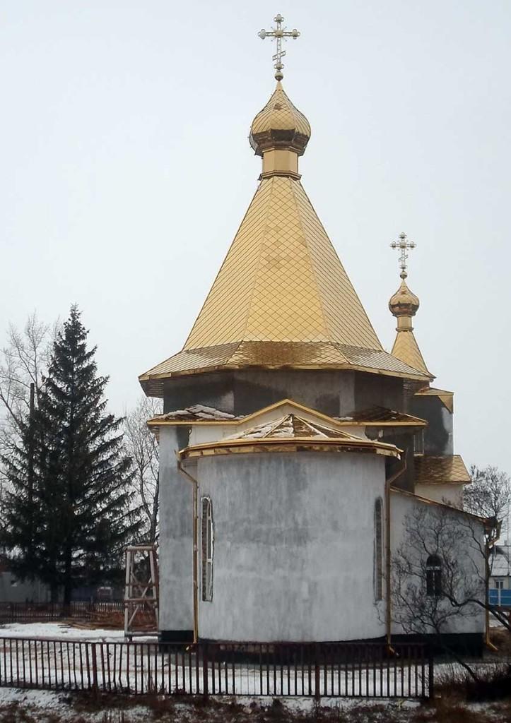 Храм святых мучениц Веры, Надежды, Любови и матери их Софии, с. Октябрское