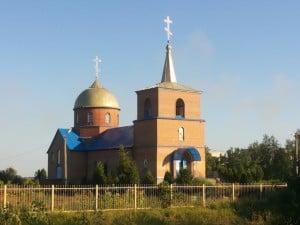 Свято-Трифоновский храм, пос. Комсомольское