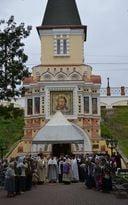 Храм Нерукотворного Образа Христа Спасителя, пос. Первомайское