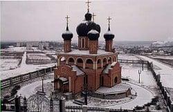 Архангело-Михайловский храм, пгт. Красный Донец