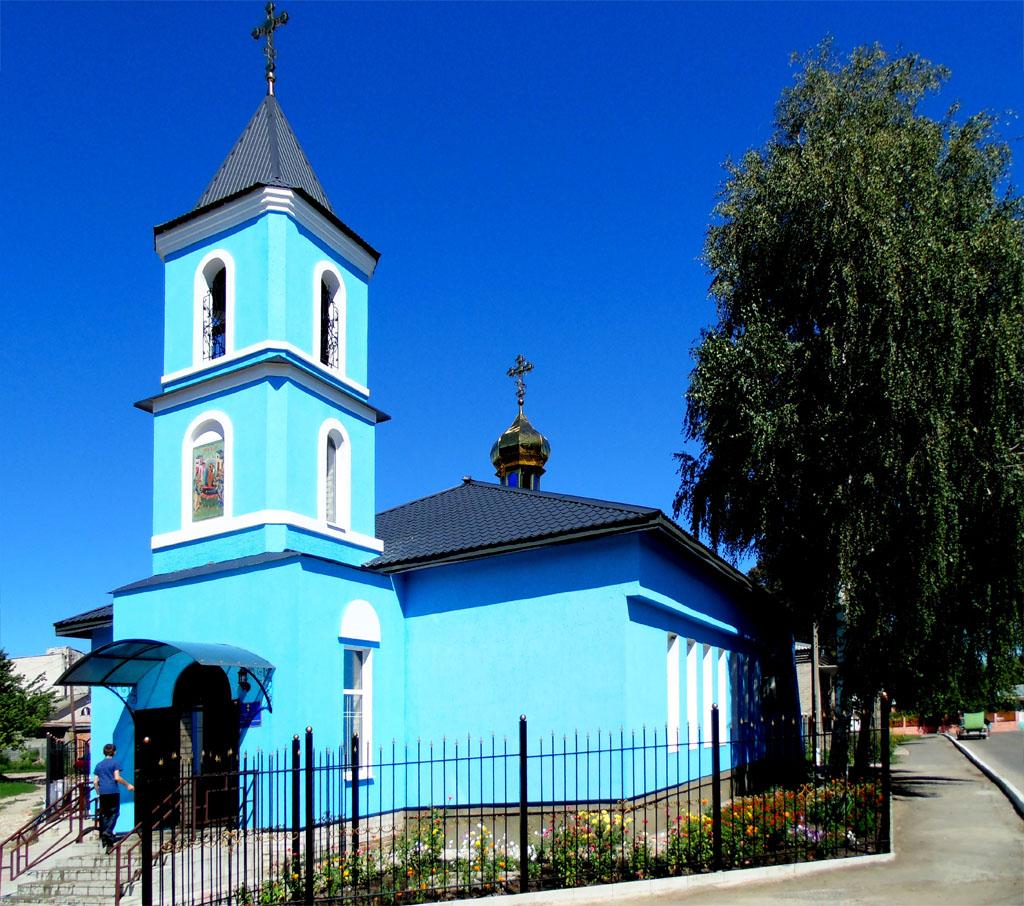 Свято-Успенский храм, пгт. Двуречная