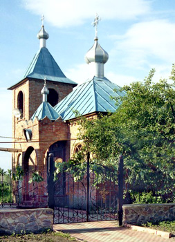Архангело-Михайловский храм, пос. Малиновка