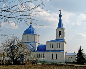 Свято-Покровский храм, пгт. Новопокровка