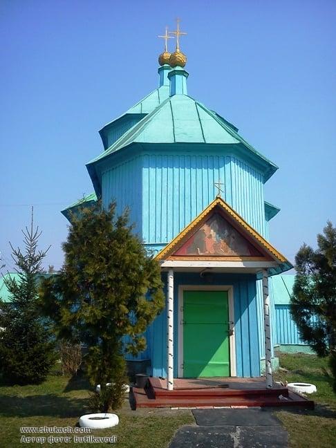 Свято-Введенский храм, с. Введенка