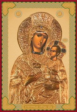 Икона Божией Матери Ктиторская (Алтарница)