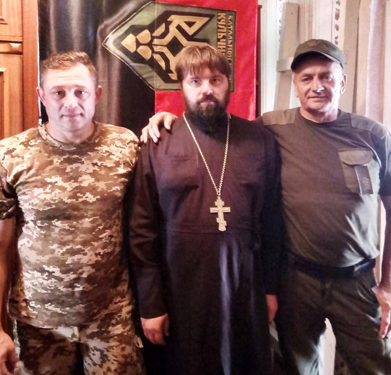 Чергова поїздка священиків Ізюмської єпархії в зону проведення АТО