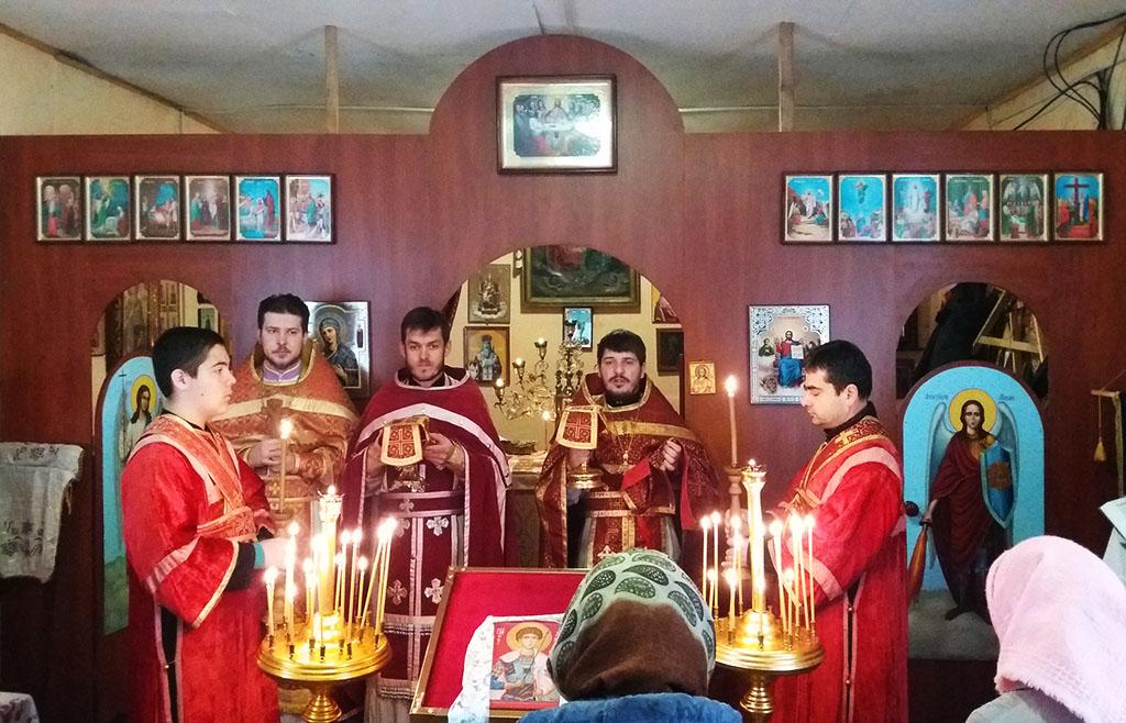 Храмове свято в с. Чемужівка Зміївського благочиння