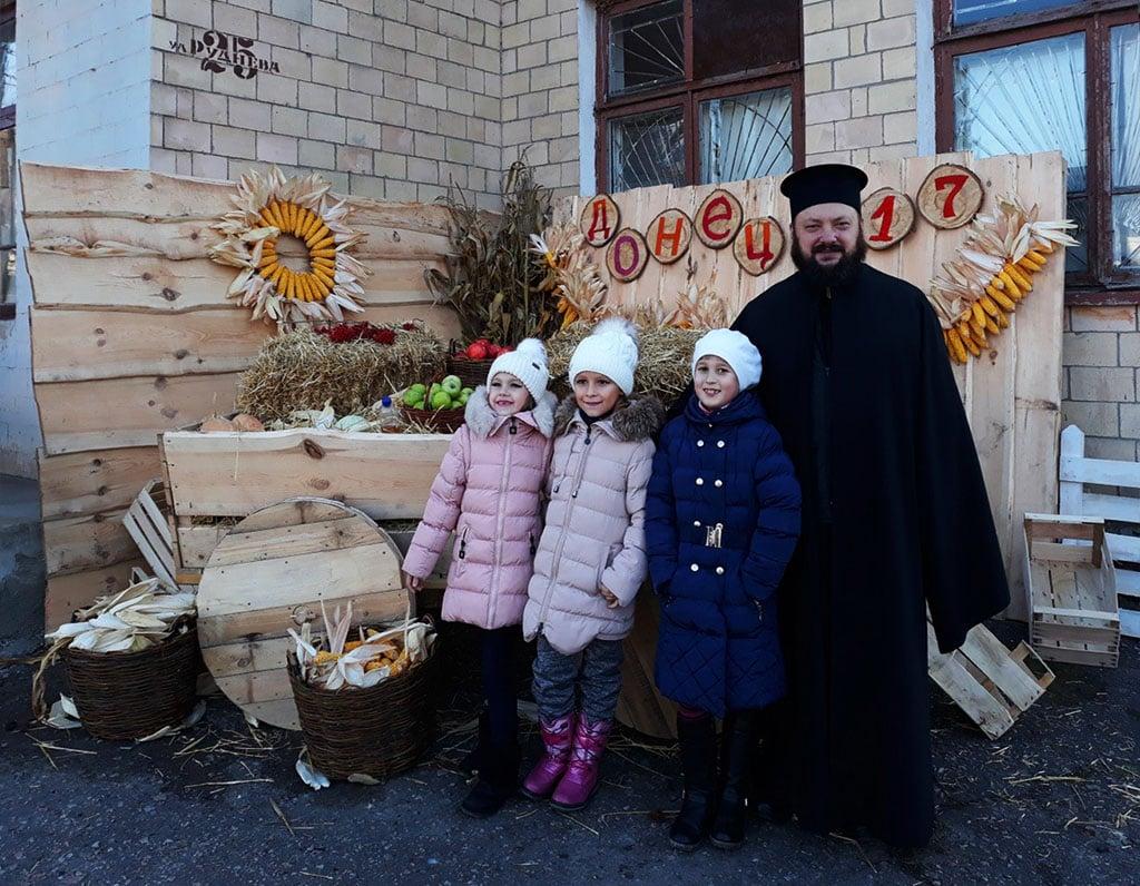 Свято в селищі Донець Зміївського району