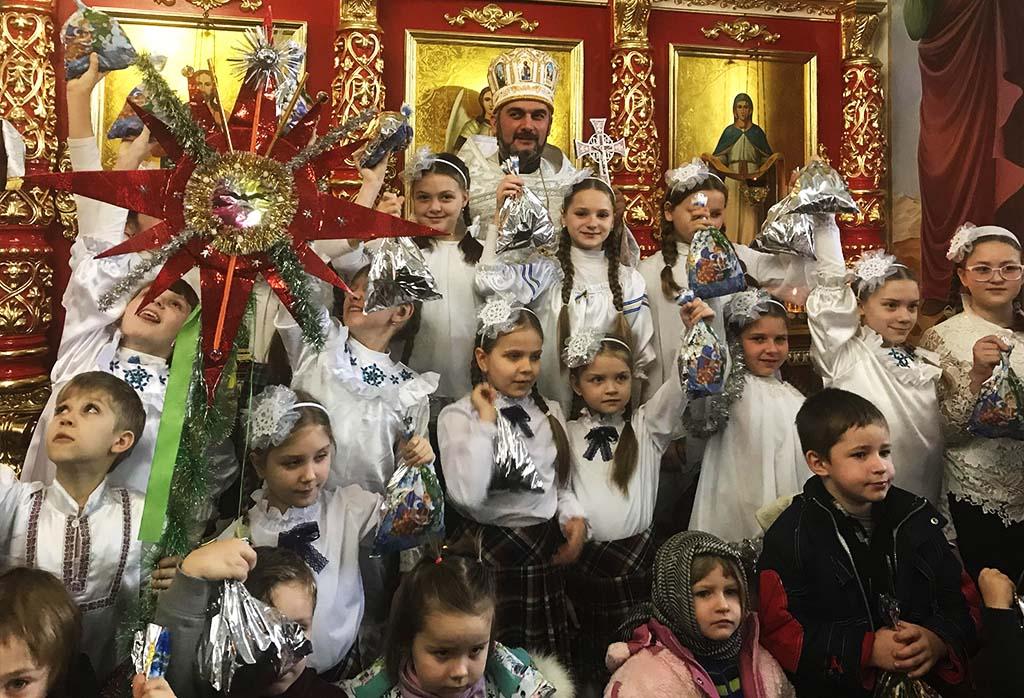 Різдво у селищі Куп'янськ-Вузловий