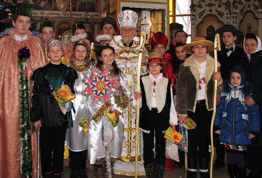 Різдво Христове в смт Печеніги