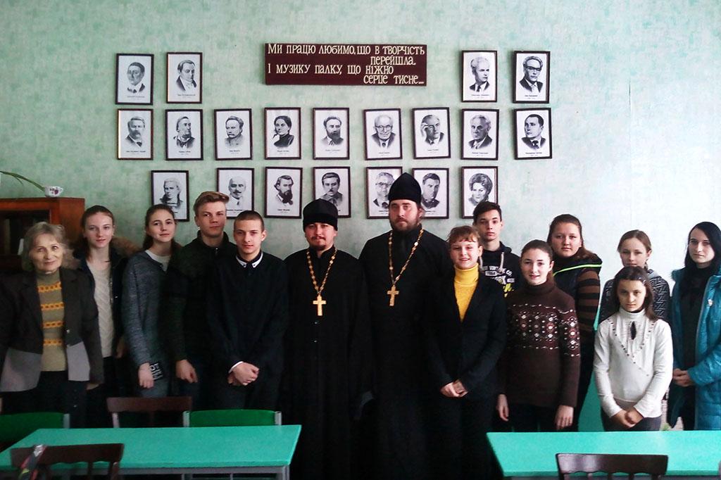 Зустріч священиків з молоддю сіл 2-а Іванівка та Мечебілове