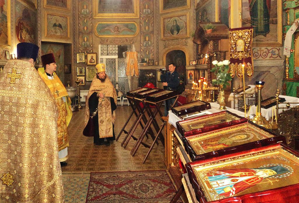 Мощі Святих Цілителів відвідали Ізюм