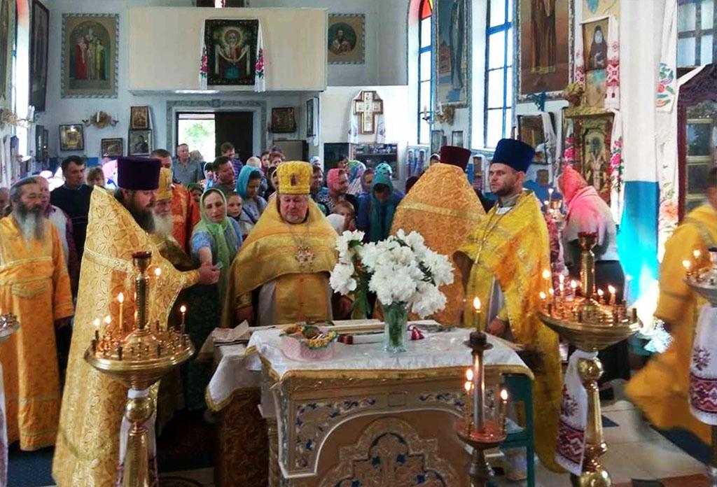 Престольне свято в селі Чорне