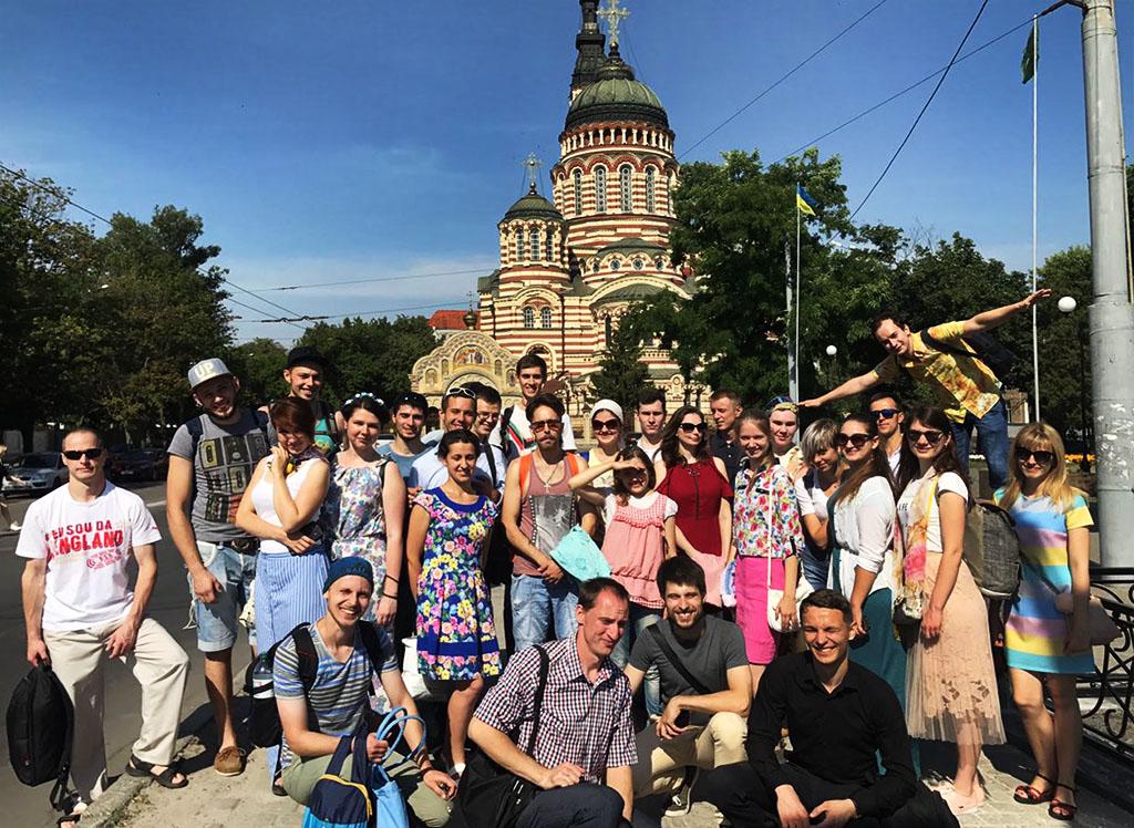 Зустріч православної молоді на Слобожанщині