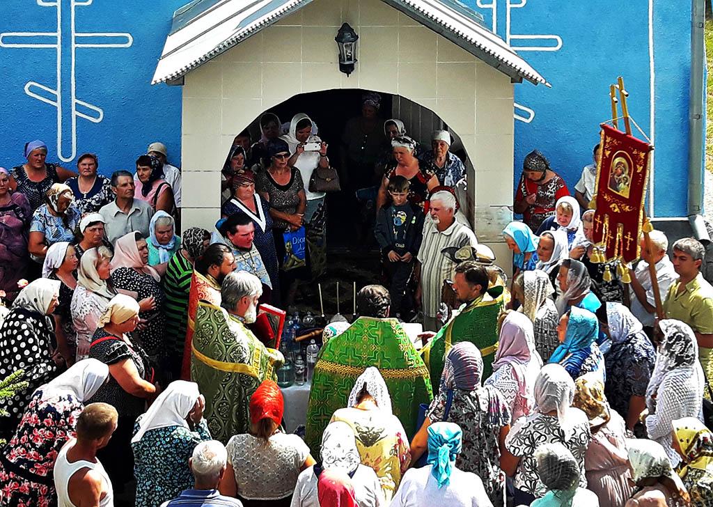 Престольне свято в селі Геніївка