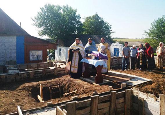 Освячення місця під храм у с. Софіївка Близнюківського району