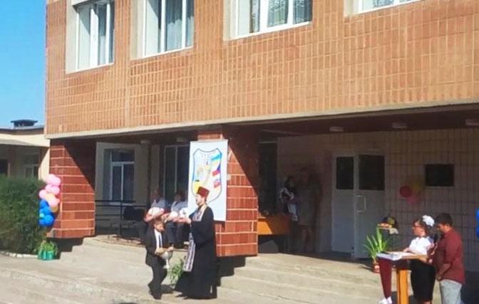 Перший дзвінок в Соколовській школі