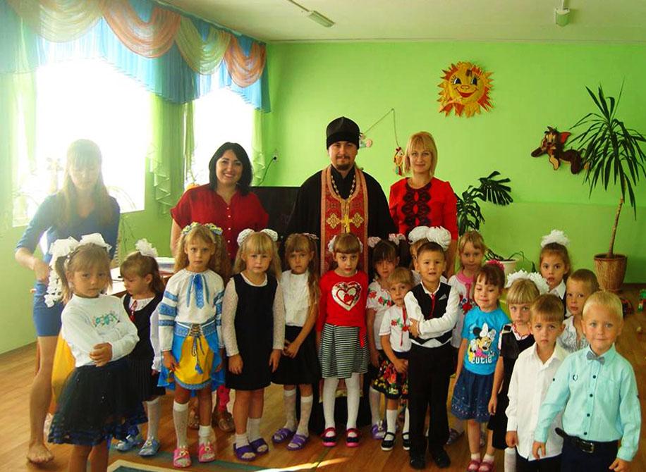 Молебень в Гаврилівському навчально-виховному комплексі