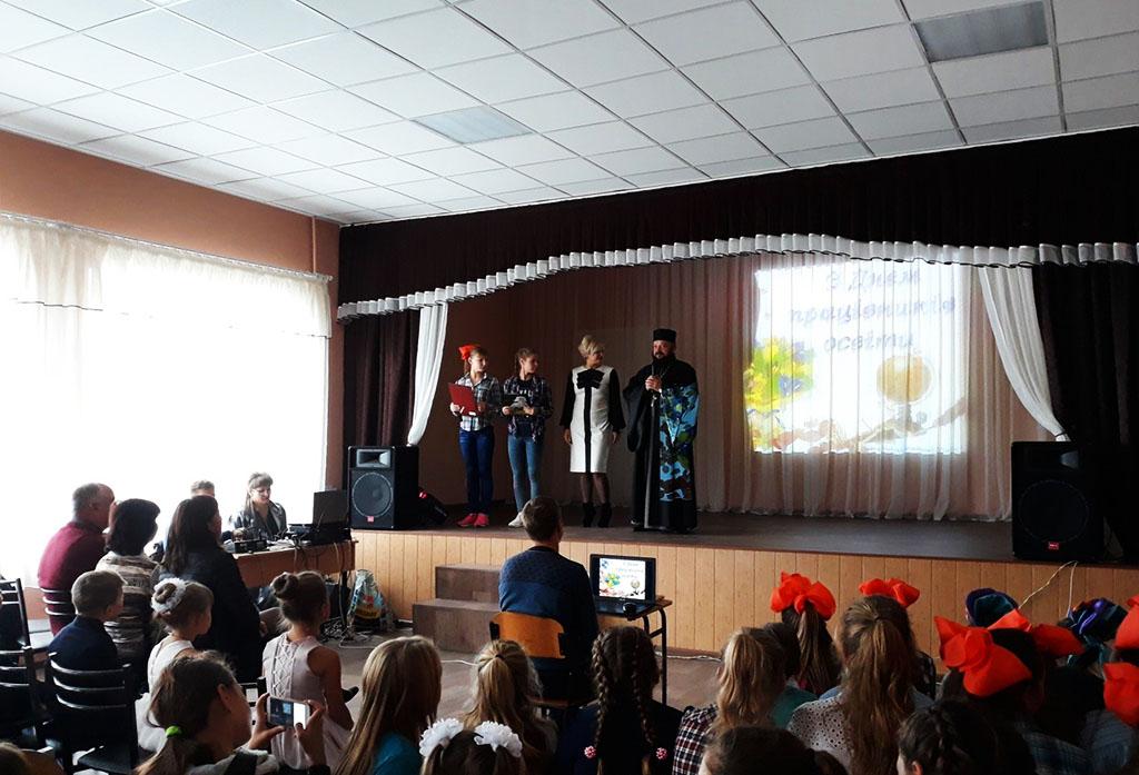 День вчителя в селищі Дінець Зміївського району