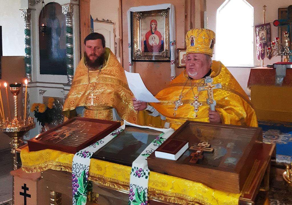 Престольне свято в селі Пільна Вовчанського благочиння