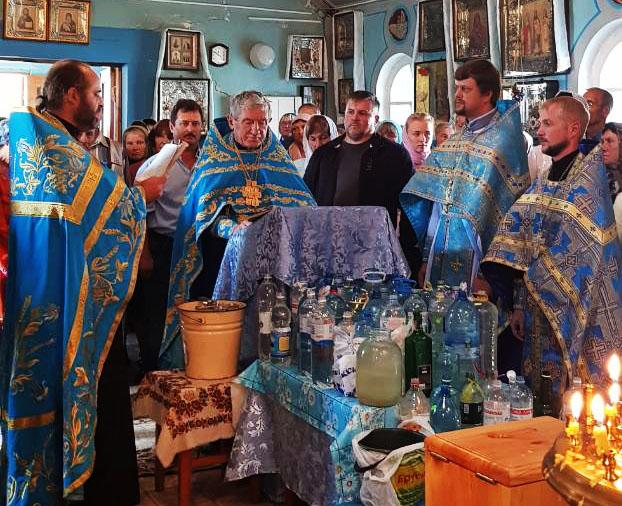 Свято на честь Різдва Пресвятої Богородиці в с. Андріївка Балаклійського району