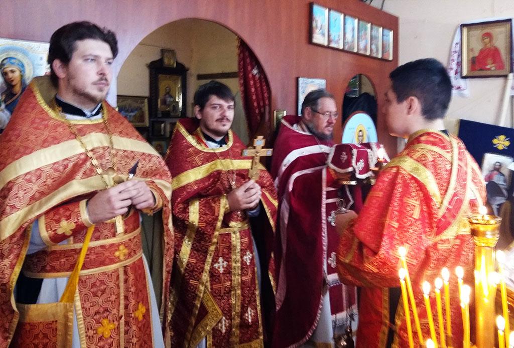 Престольне свято в селі Чемужівка