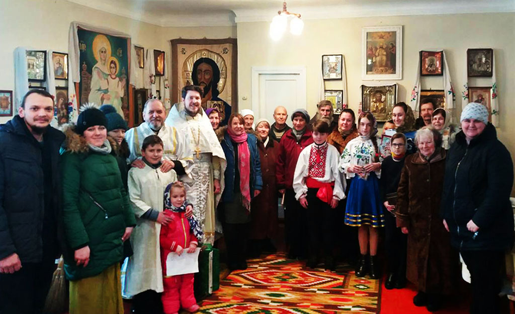 З Днем Народження Христа привітали Соколовські діти