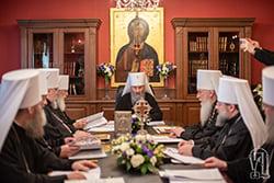 Заява Священного Синоду УПЦ щодо ситуації в українському і світовому Православ'ї