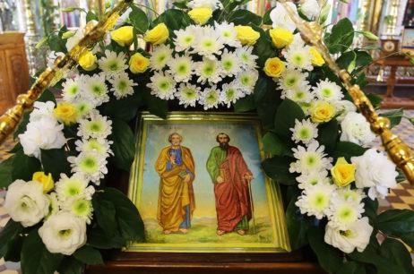 Канун праздника первоверховных апостолов Петра и Павла