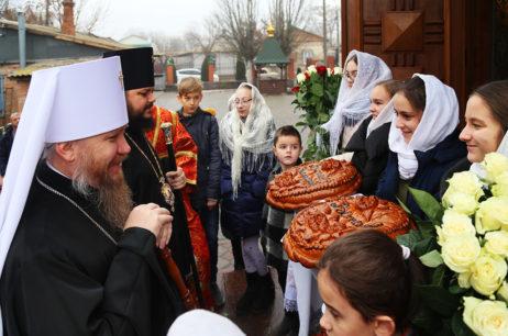 Высокопреосвященнейший Елисей поздравил архиепископа Бердянского и Приморского Ефрема с днем рождения