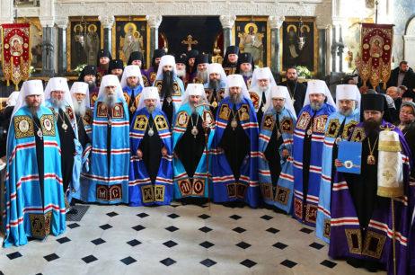 Божественная литургия в 29-ю годовщину архиерейской хиротонии Предстоятеля УПЦ