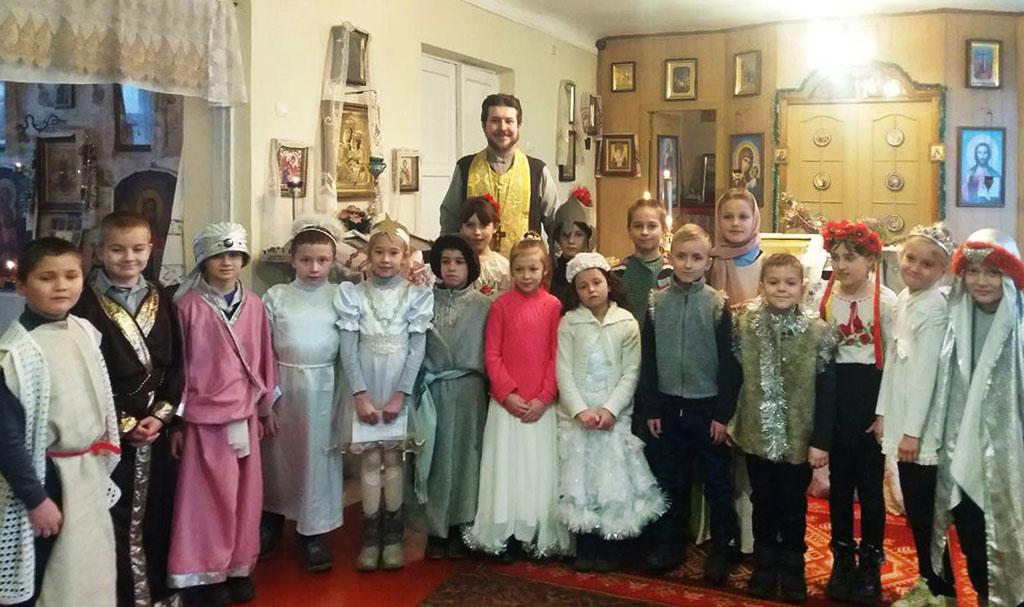 Новоліття в Свято-Успенському храмі с. Соколово
