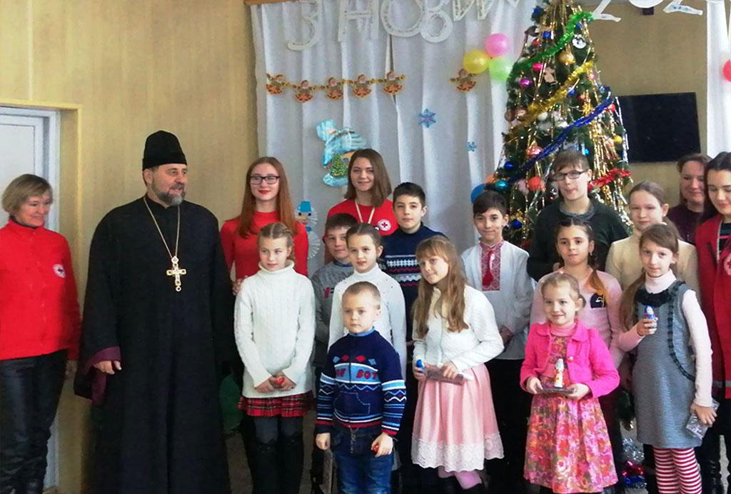 Різдвяне свято в Куп'янському психоневрологічному інтернаті