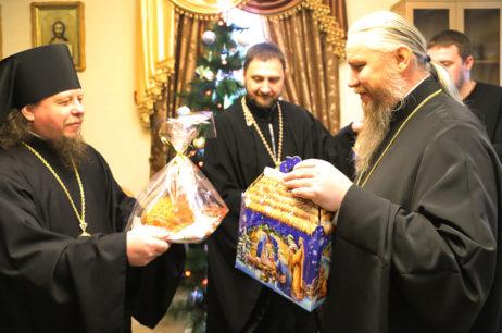 Поздравление правящего архиерея с Рождеством Христовым