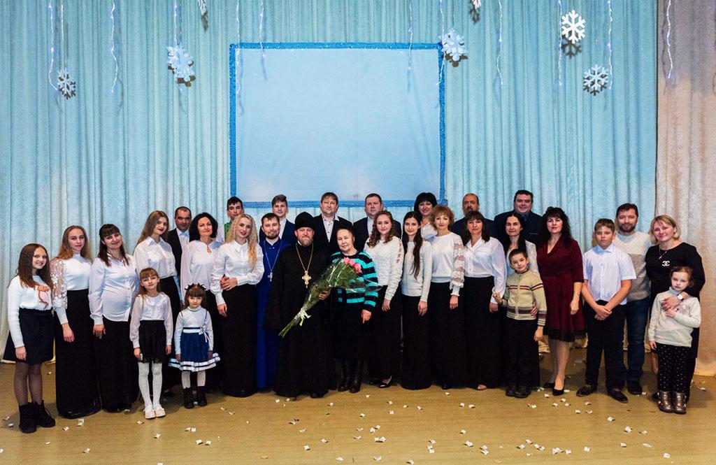 Святкування Різдва Христового в м. Барвінкове