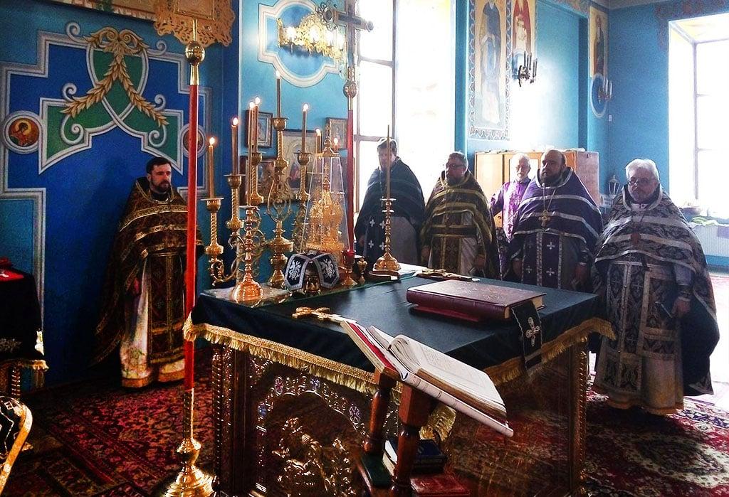 Літургія Передосвячених Дарів у м. Чугуїв