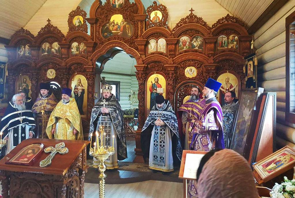 Соборна Літургія Передосвячених Дарів в Свято-Покровському храмі с. Тимченки