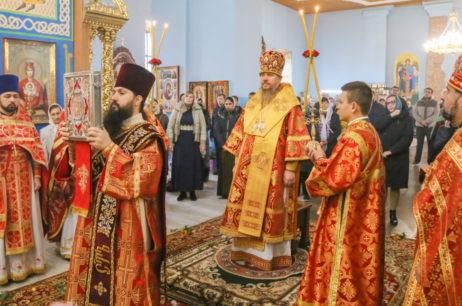 Высокопреосвященнейший Елисей посетил город Чугуев