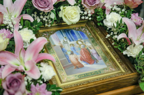 Канун праздника Введения во храм Пресвятой Богородицы