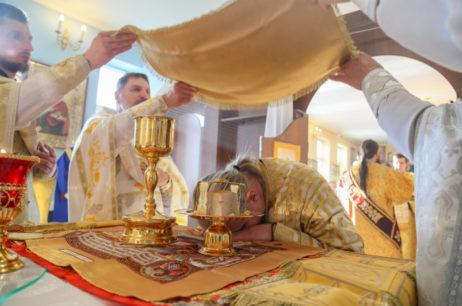 Високопреосвященніший Єлисей відвідав смт. Дворічна