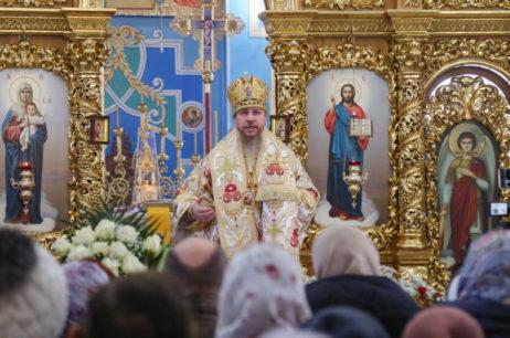 Високопреосвященніший Єлисей відвідав місто Чугуїв