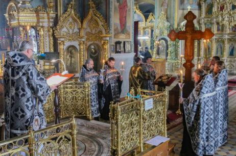 В кафедральном соборе совершилась последняя Пассия