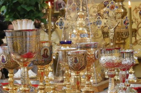 Высокопреосвященнейший Елисей принял участие в богослужении в Запорожье в день памяти святителя Луки Крымского