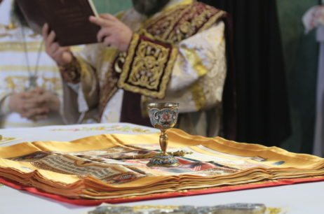 Высокопреосвященнейший Елисей совершил чин освящения антиминсов